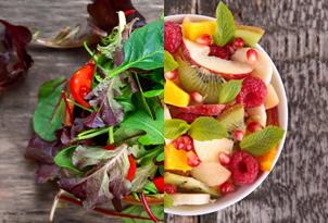 Gesneden Groenten En Fruit
